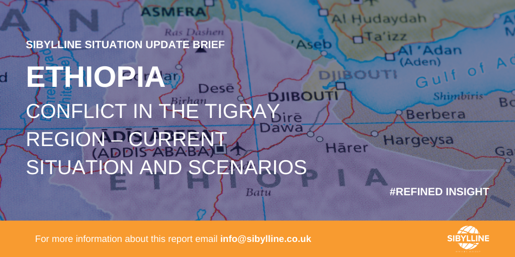 Ethopia conflict in the tigray region - current situation and scenarios